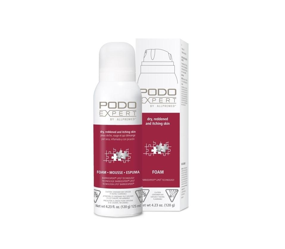Podoexpert Allpremed® dry reddened and itching skin Foam 125ml
