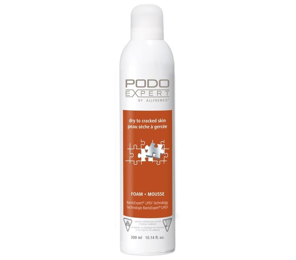 Podoexpert by Allpremed® dry to cracked skin Foam 300ml