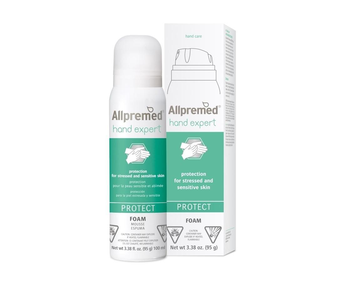 Allpremed® hand expert Foam Cream PROTECT 100ml
